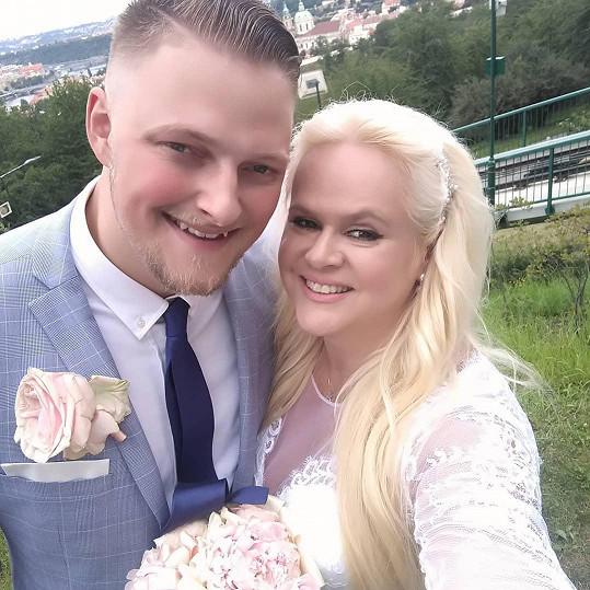 Monika Štiková žije s manželem v Německu.