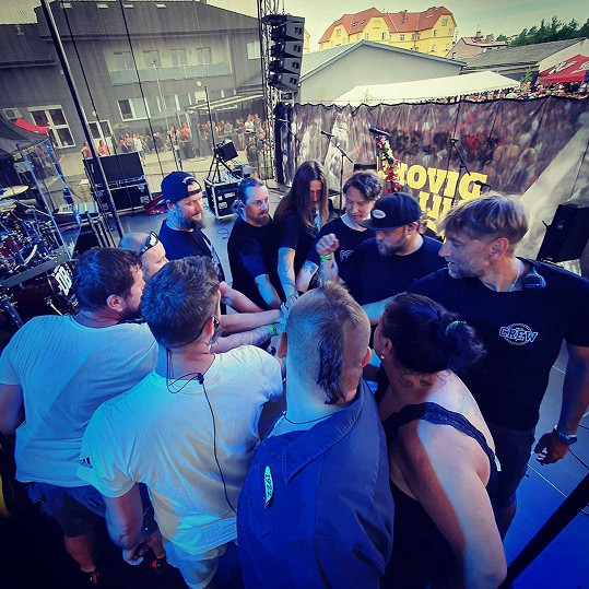 S kapelou Divokej Bill odstartoval v červnu koncertní turné Marathon 2021, které bude mít finále v září.