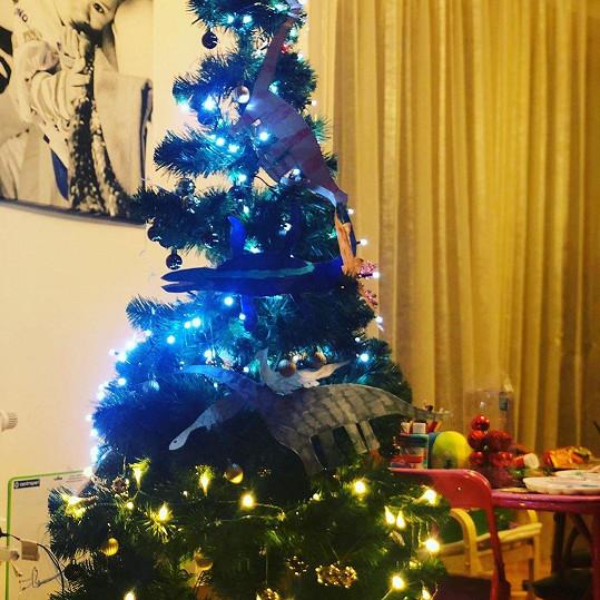 Vánoční stromeček Lucie Vondráčkové
