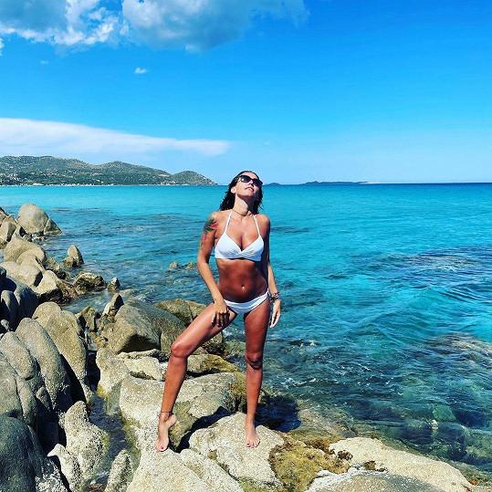 Agáta Hanychová chytá bronz na Sardinii.