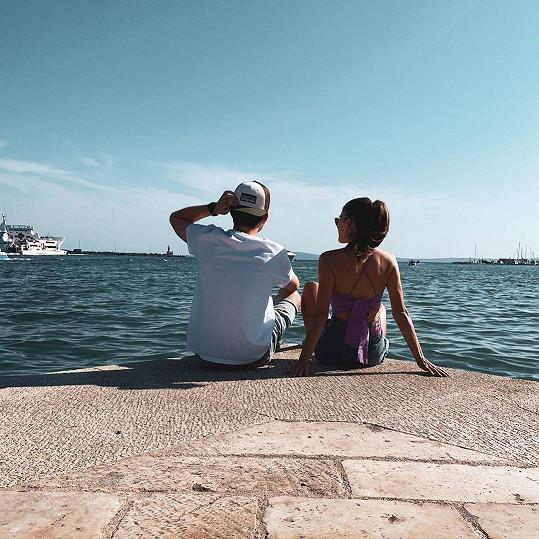 Užívají si prosluněné dny v Chorvatsku.