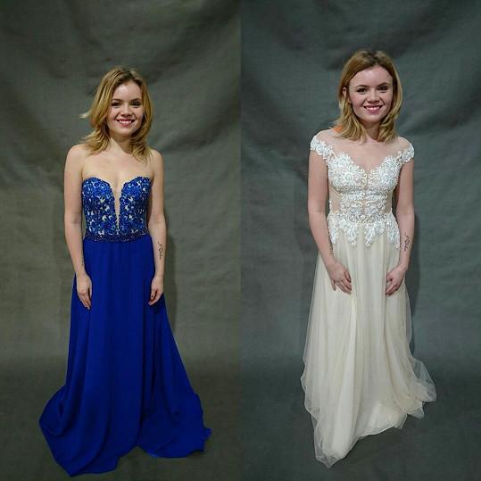 Z těchto dvou modelů původně Veronika vybírala.