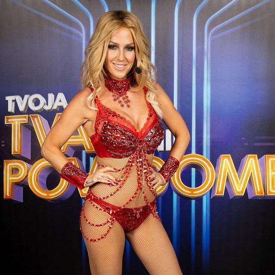 Proměna v Britney Spears.