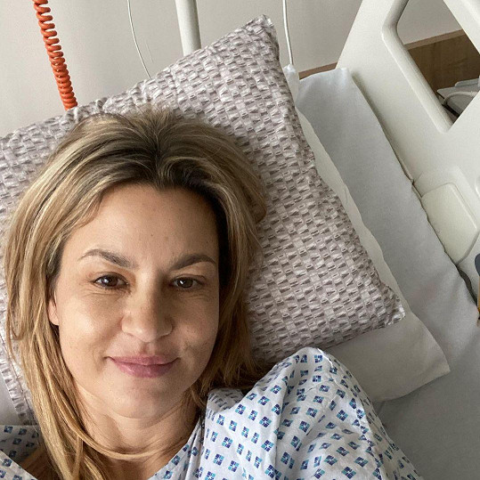 Monika Marešová musela opět na operaci.