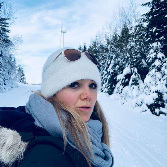 Z Kanady, kde několik let bydlela, je zvyklá na opravdu silné mrazy.