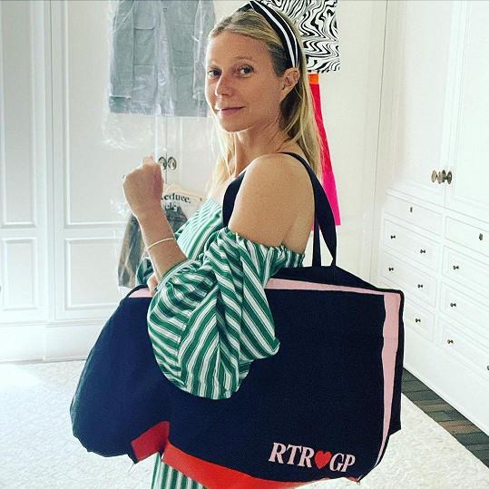 Gwyneth Paltrow vypadá bez makeupu o dost mladší.