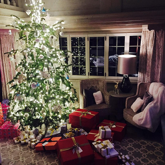 Dcerce připravili krásné Vánoce.