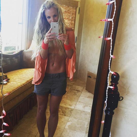 Britney Spears digitální úpravy nepotřebuje.