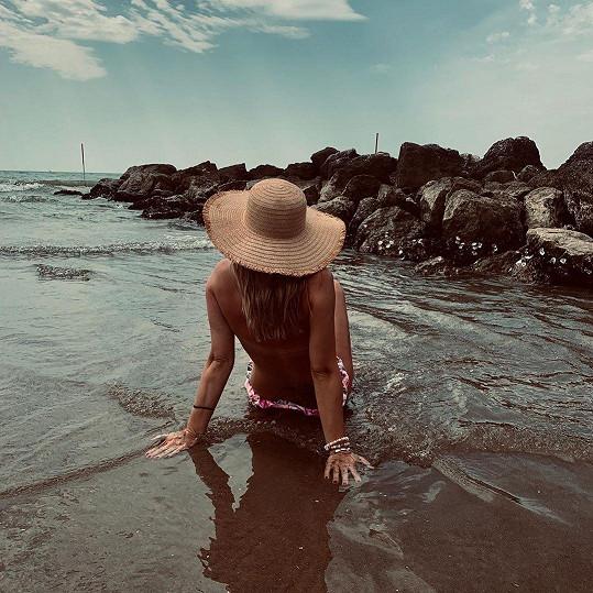 Šárka Vaňková a její sexy snímek z dovolené