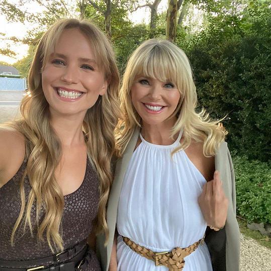 S dcerou Sailor, které je 23 let.