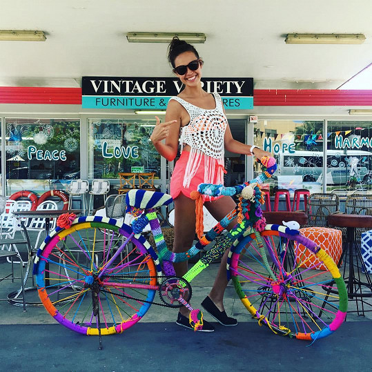 Monika Leová si užívá na dovolené v Austrálii.