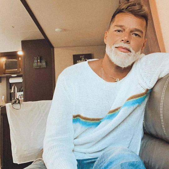 Ricky Martin podle některých vypadá jako sexy Santa.