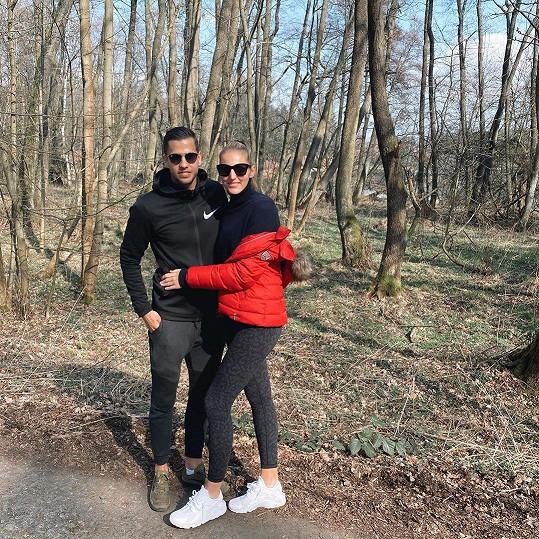 Tenistka Kristýna Plíšková a fotbalista Dávid Hancko tvoří krásný pár.