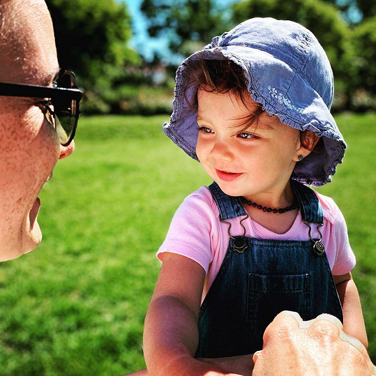 Michaela Maurerová s dcerou Emmou
