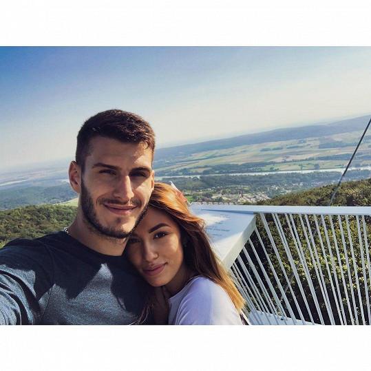 Daniela s manželem