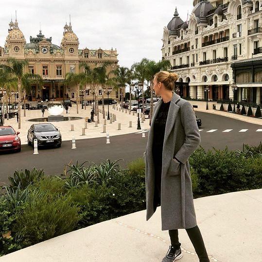 Z procházky po centru Monaka