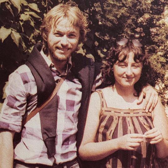 Halina Pawlowská s manželem Zdeňkem před lety.
