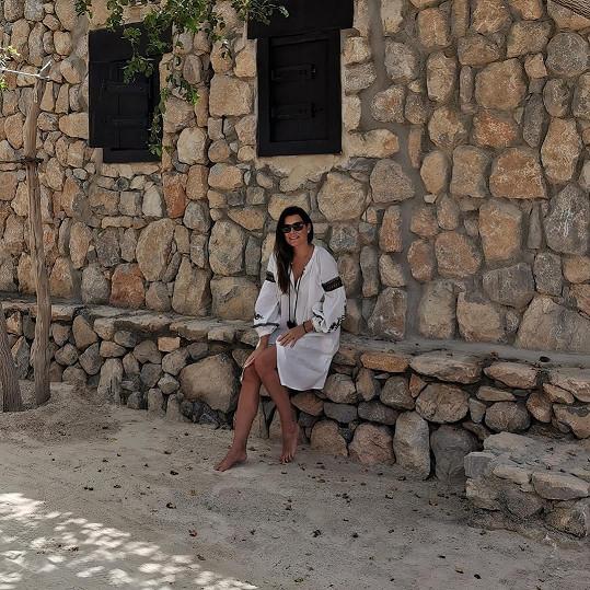 Na dovolenou do Ománu vyrazila o Velikonocích.