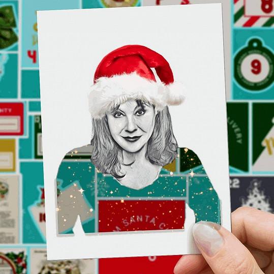 Dáda Patrasová se už těší na Vánoce.