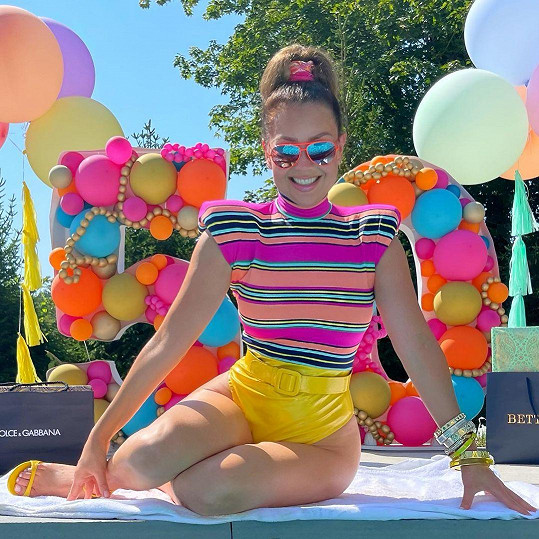 Thalía oslavila padesátiny.