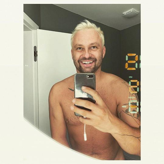 Marek Dědík je blonďák.