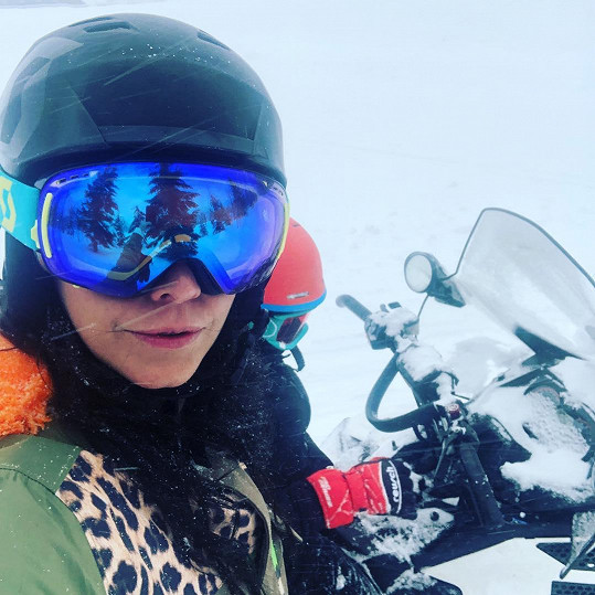 Agáta Prachařová musela z hor rovnou na operační sál.