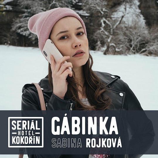 """""""Říkala jsem si, že je to něco, čeho se vlastně trochu bojím, tak do toho půjdu,"""" říká o natáčení seriálu, který neměl dopředu žádný scénář, Sabina."""