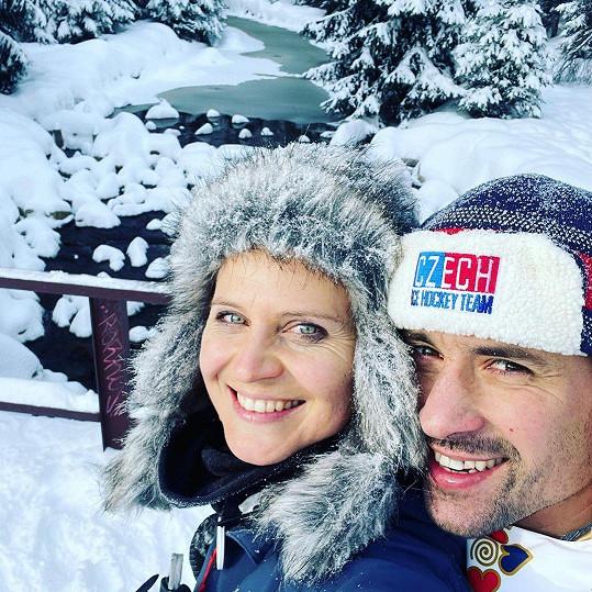 S Tomášem Plekancem tvoří Lucie Šafářová krásný pár.