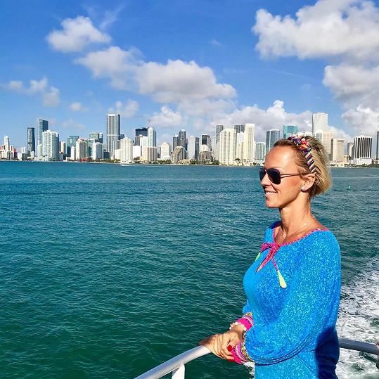 Zuzana Belohorcová už nějakou dobu žije na Floridě.