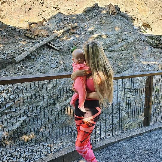 S dcerou Lili v zoo