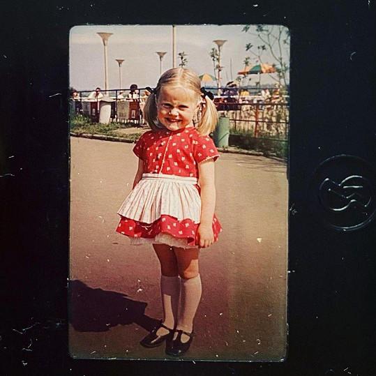 Regina Řandová jako malá holka