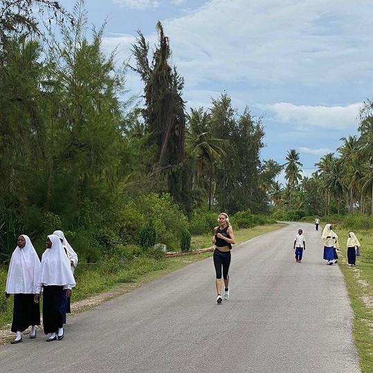 Krainová běhá obden okolo deseti kilometrů.