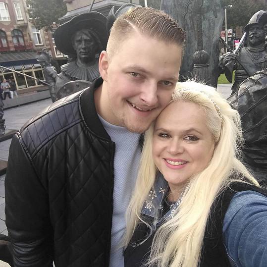 Monika Štiková si užívala s přítelem Petrem v Amsterdamu.