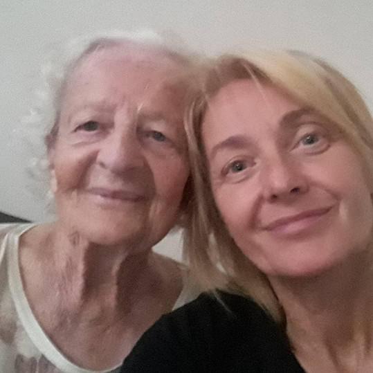 Veronika Žilková se mohla konečně vidět s maminkou Olgou.