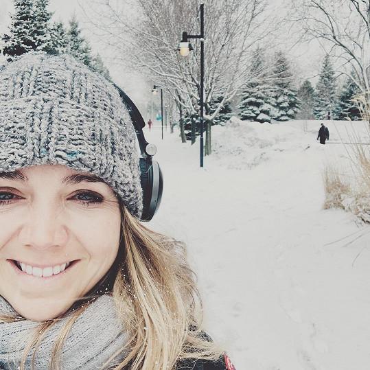 Lucie Vondráčková a její kanadské jaro