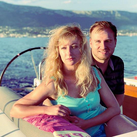 Lucie Hunčárová s přítelem tráví dovolenou v Chorvatsku.