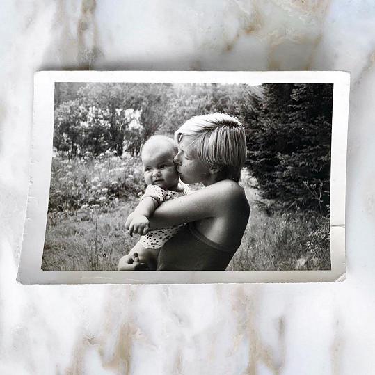 Monika Marešová se pochlubila unikátní fotografií z dětství.