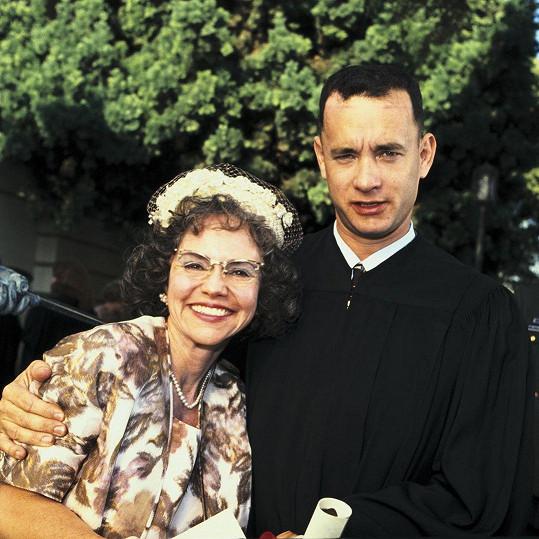 S Tomem Hanksem ve filmu Forrest Gump