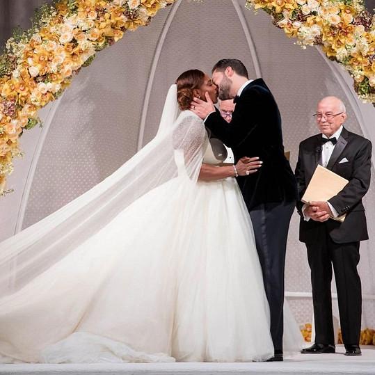 Serena se provdala za otce své dcery Alexis.
