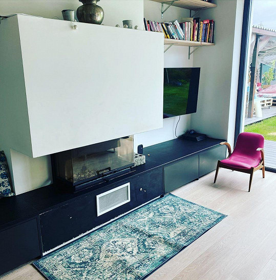 Obývací pokoj Agáty Hanychové
