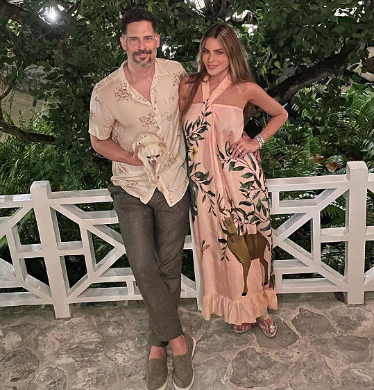 Sofia a manžel Joe Manganiello