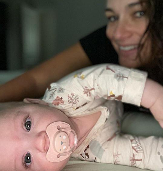 S milovanou dcerkou