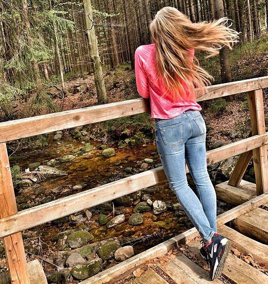 Opět unikla do přírody.