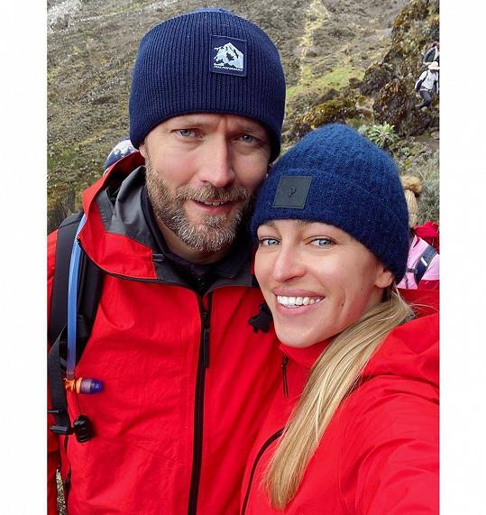 Renata s manželem Ondřejem