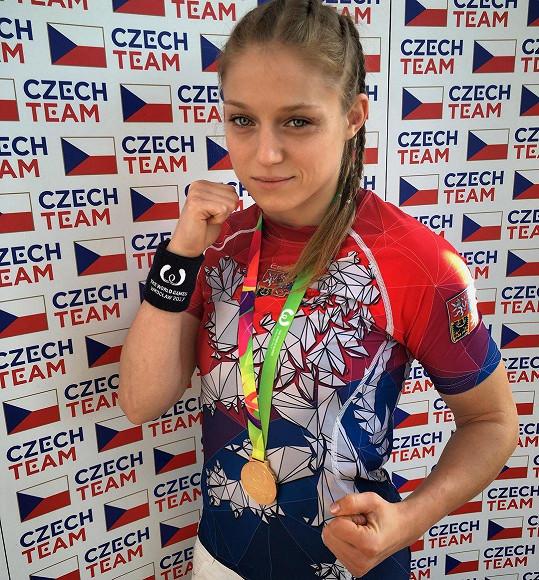 Sandra Mašková (33) začala s bojovými sporty v 19 letech.