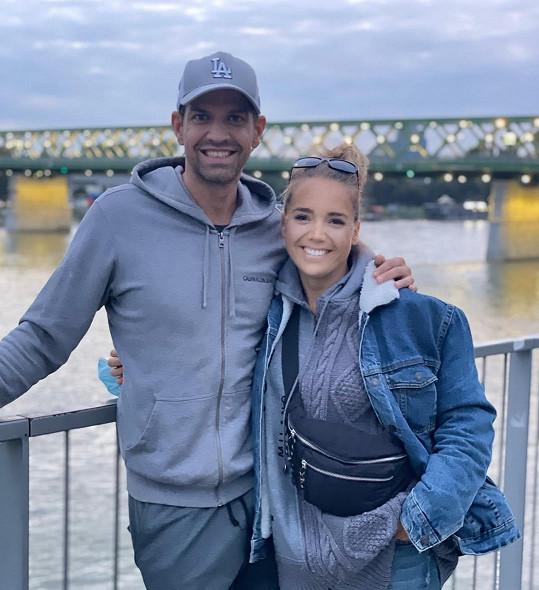 Lucie Vondráčková a Petr Vojnar navštívili Bratislavu.
