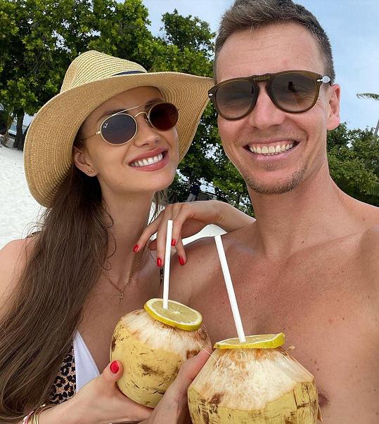 S manželem Tomášem Berdychem