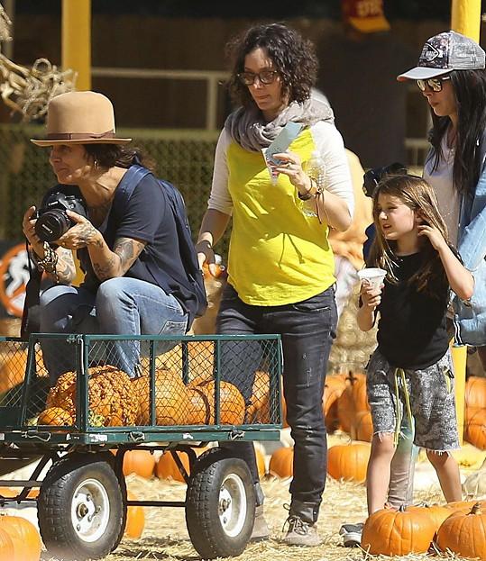 Linda se Sarou a její dcerou Sawyer