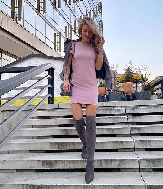 Veronika Kopřivová vtipkovala o dvojčátcích.