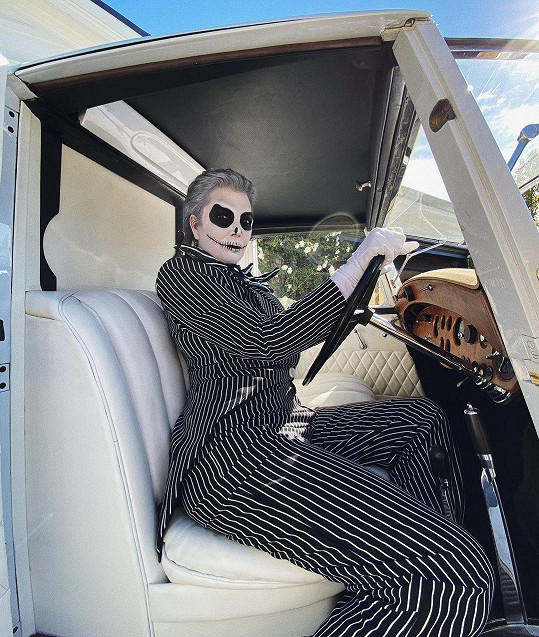 Kris Jenner jako Jack Skellington